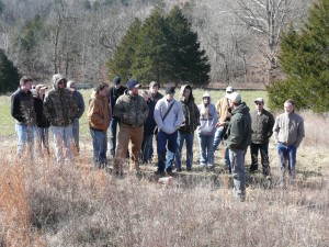 College of the Ozarks students touring The Proving Grounds