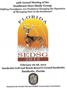 35th Annual Southeast Deer Study Group