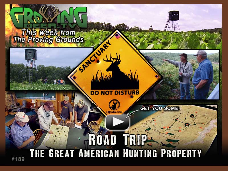 Watch episode #189 on GrowingDeer.tv.