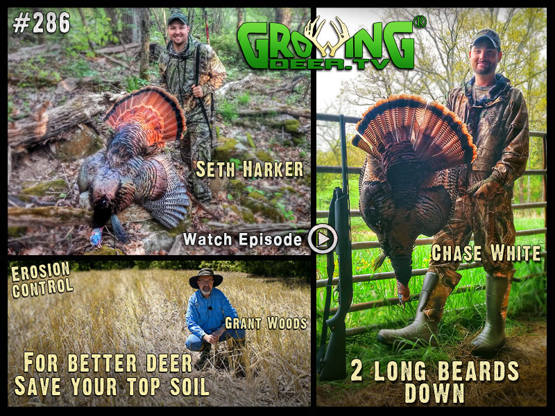 Tips for better soil and better food plots in GrowingDeer.tv episode #286.
