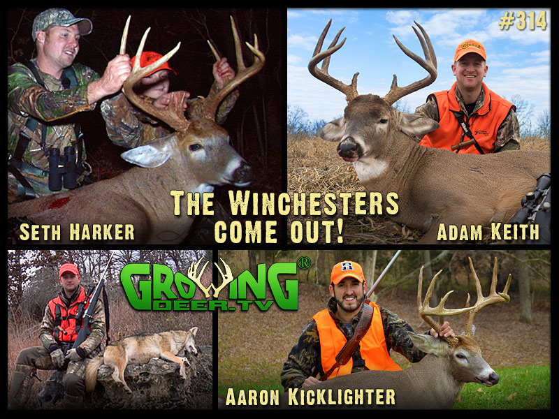 Watch our success during the gun opener in GrowingDeer episode #314.