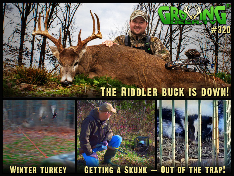 Watch Seth Harker take down the Riddler buck in GrowingDeer episode #320.