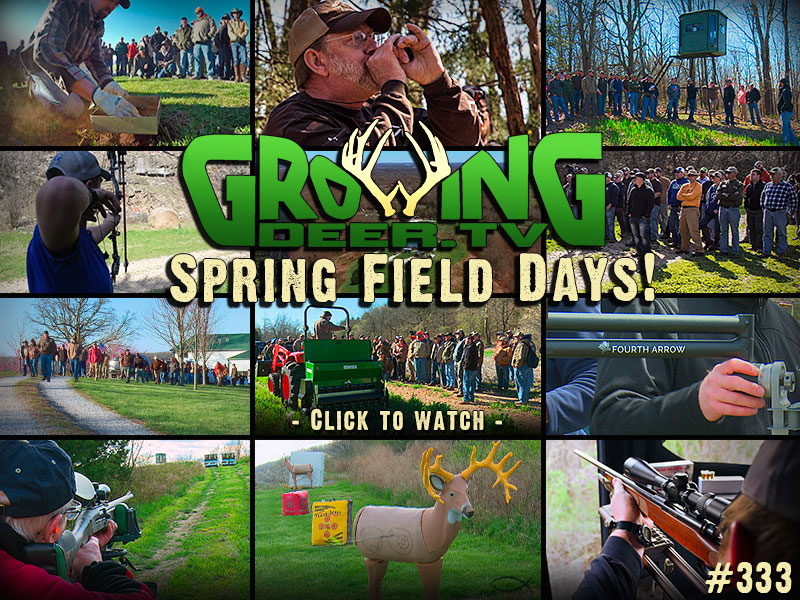 Watch GrowingDeer episode 322 to see highlights from Spring Field Days 2016.