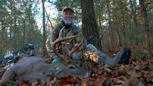 Grant Woods with hit list buck Tall 8