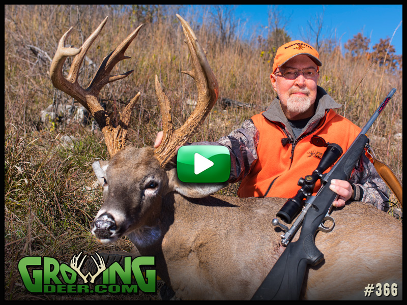 Watch the hunt for Handy in GrowingDeer episode 366.