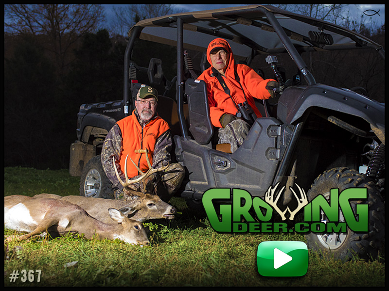 Watch Pops Woods tag a buck in GrowingDeer episode 367.