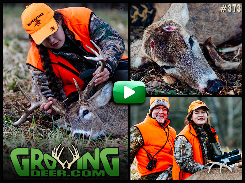 Watch Rae Woods tag a buck with disappearing antlers in GrowingDeer episode 373.