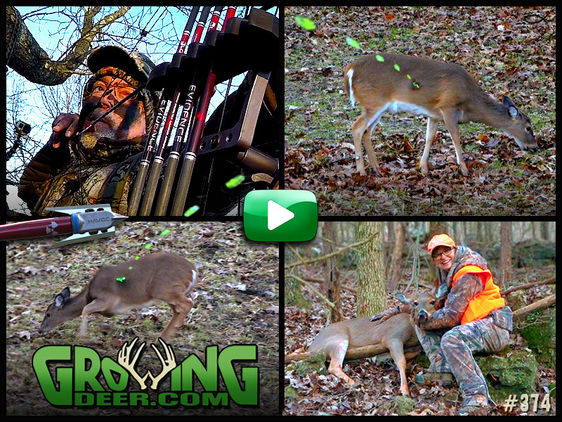 Learn how to pattern and hunt late season deer in GrowingDeer episode 374.