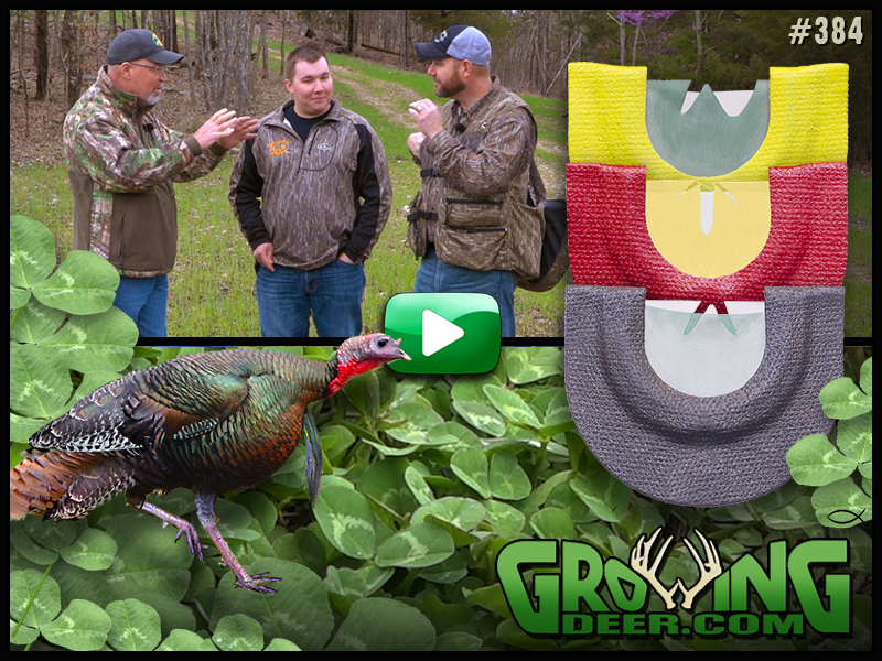 Learn how to use a diaphragm turkey call in GrowingDeer episode #384.