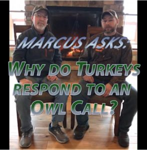 Grant Woods & James Harrison answer turkey call questions.