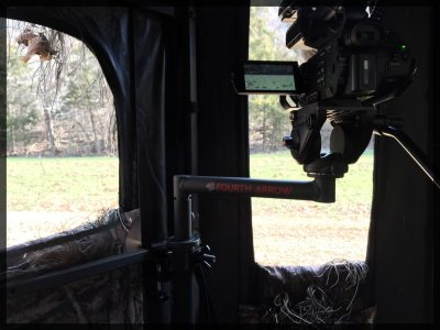 A Fourth Arrow camera system for filming hunts