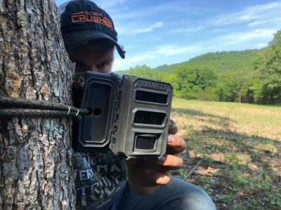 We scout using Reconyx trail cameras