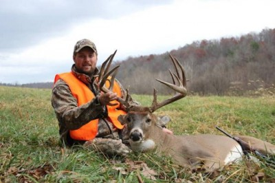 21 point buck harvested by Ben Hampton