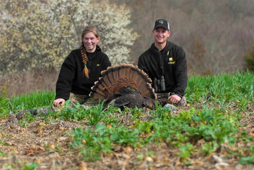 Raleigh harvested a gobbler in the youth season 2013
