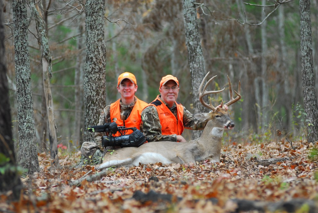 Whitetail Buck taged during 2011 gun opener by Dr. Grant Woods