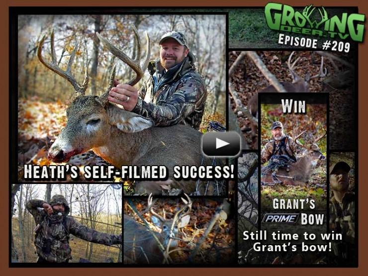 Watch a self-filmed hunt in GrowingDeer.tv episode #209.