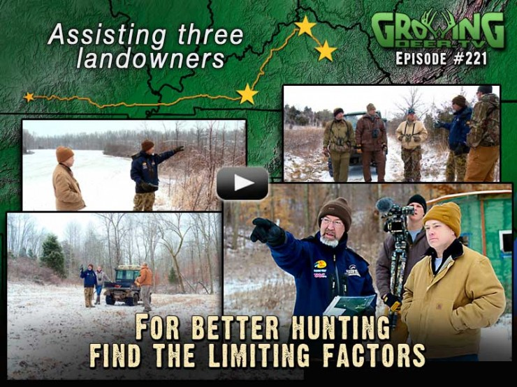 Learn how to identify the limiting resources on your property in GrowingDeer.tv episode #221.