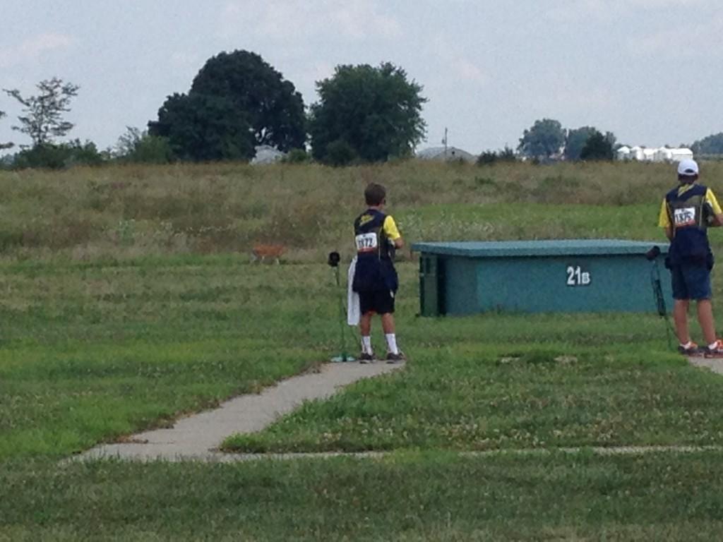 deer by trap range in Sparta, IL