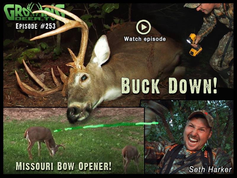 A big buck goes down in GrowingDeer.tv episode #253.