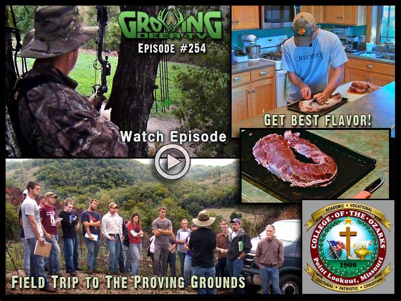 Adapting hunting strategies in GrowingDeer.tv episode #254.
