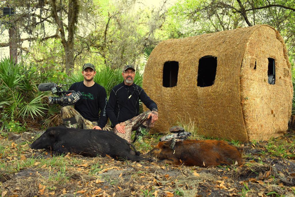 A successful hog hunt in southern Florida