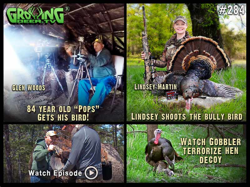 Watch more gobbler action in GrowingDeer.tv episode #284.