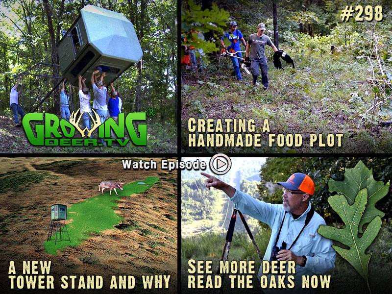We share our pre season scouting techniques in GrowingDeer.tv episode #298.