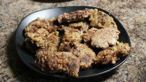 Fried Venison Steaks
