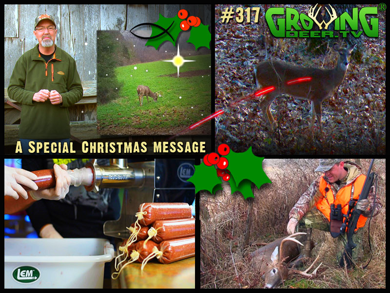 Watch GrowingDeer episode #317 to see us bring home the venison!