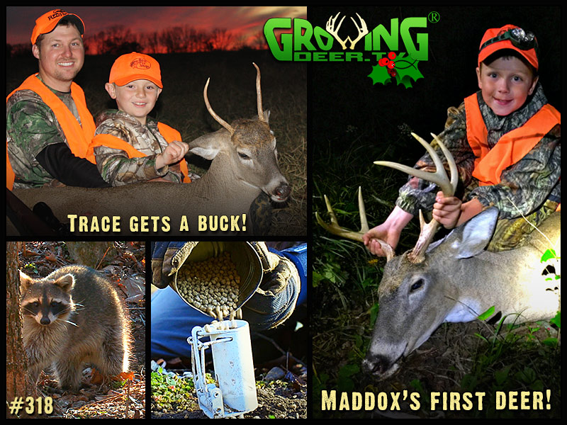 Trace & Maddox have successful youth hunts in GrowingDeer episode 318.