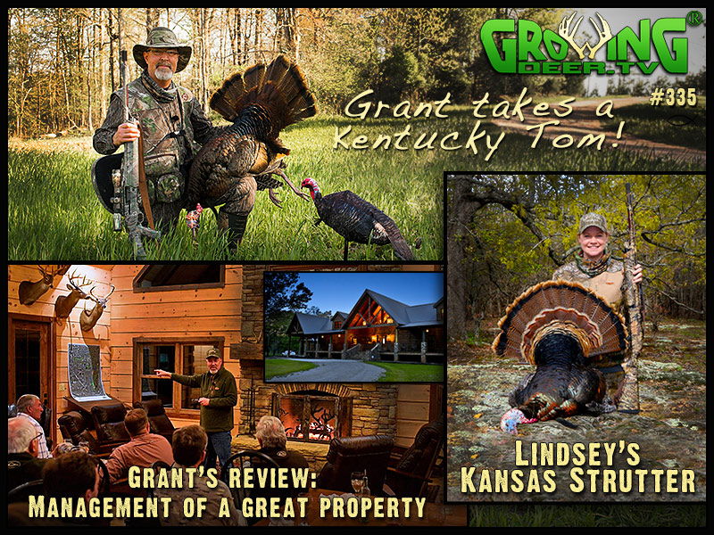 Watch two successful turkey hunts in GrowingDeer episode #335.