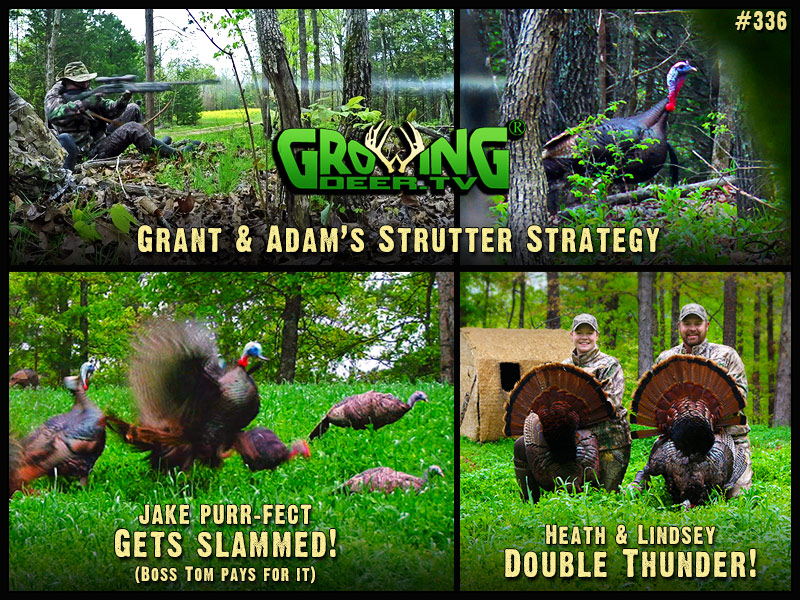 Watch turkey hunting tricks in GrowingDeer episode #336.