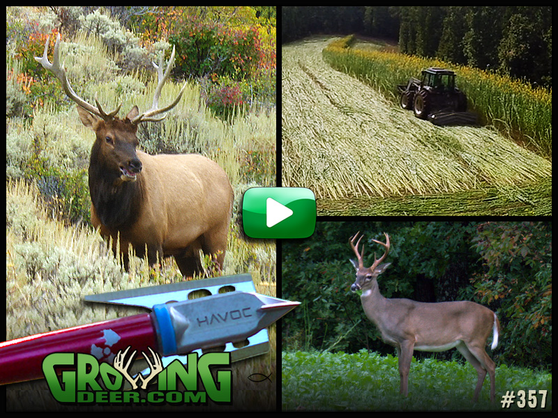 Watch GrowingDeer episode 357 to see how we battle the challenges and adventures of early season hunting.