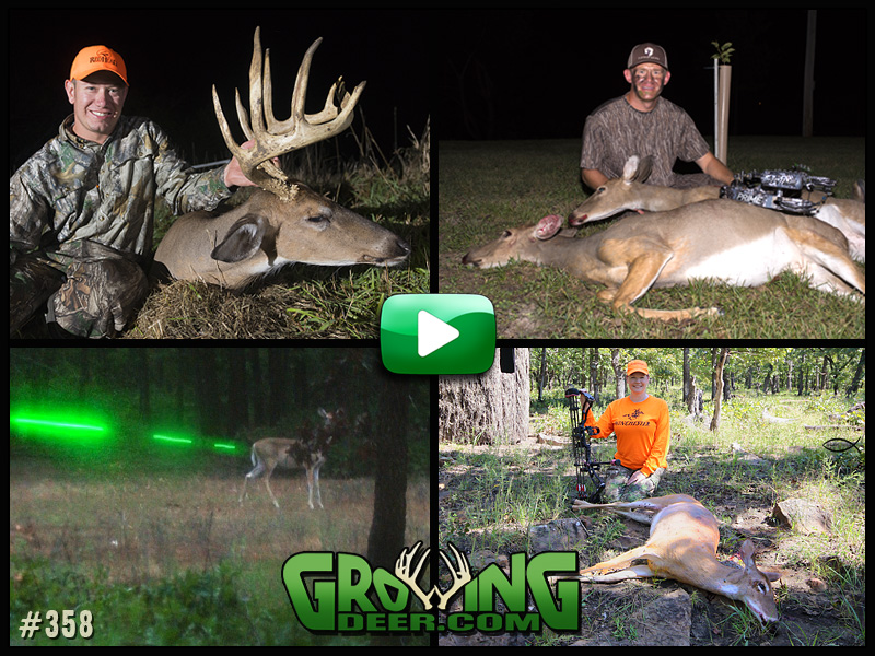 Watch red hot early season action in GrowingDeer episode 358.