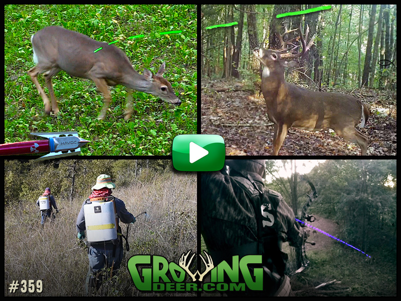 Watch doe management and better whitetail habitat in GrowingDeer episode #359.