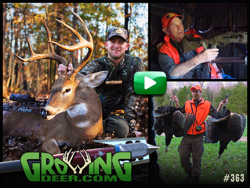 Watch two successful deer hunts in GrowingDeer episode 363!