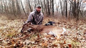 Daniel had a successful late season archery hunt
