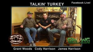 Grant Woods, James Harrison, Cody Harrison.