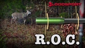 Bloodsport R.O.C. and a mature buck