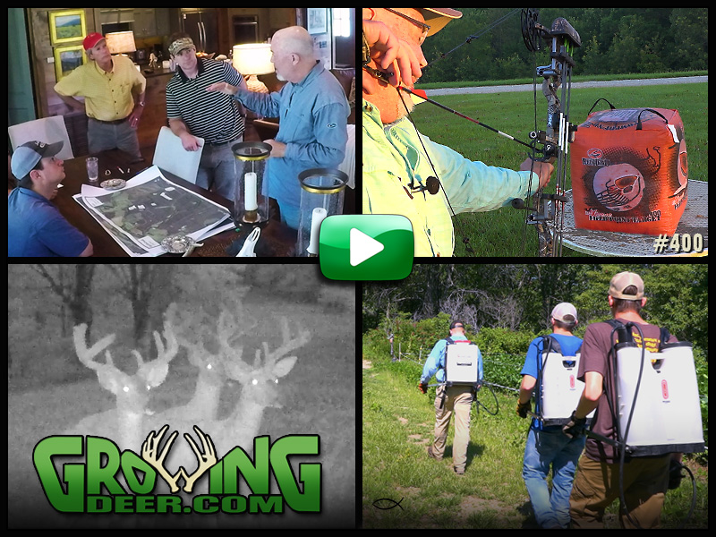 Watch our habitat management tips is GrowingDeer episode 400.