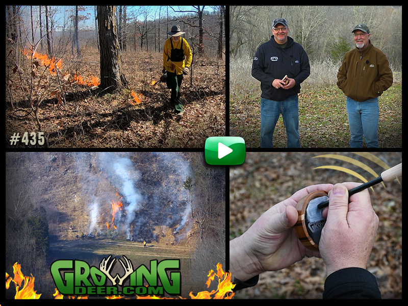 Watch us execute a prescribed fire and then learn turkey calling techniques.
