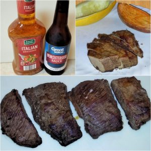 An easy marinade recipe for venison