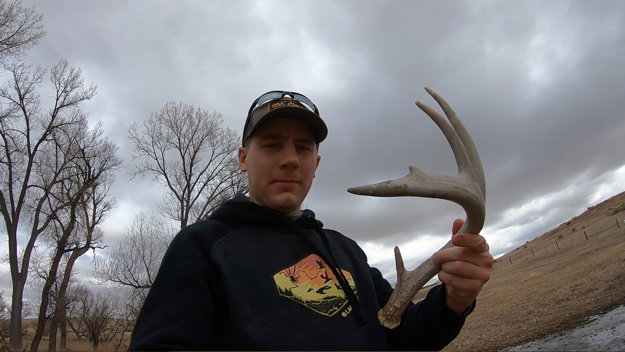 Antler found near cover in Kansas by Clay O'dell